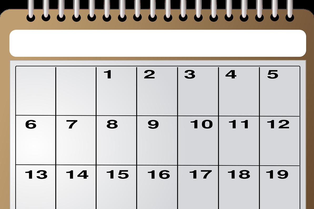 Unser Kalender ist online!