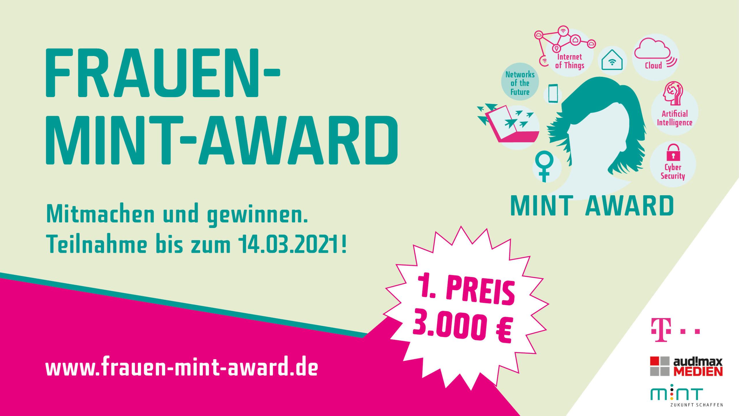 Frauen-MINT-Award 2021